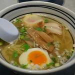 麺厨房あじさい - 味彩塩拉麺ハーフサイズ
