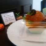 57784697 - テーブルの飾り物。かぼちゃがかわいい。