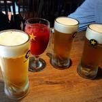 57785705 - 乾杯は生ビールとトマトジュース♡