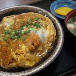 食堂 山男 - カツ丼