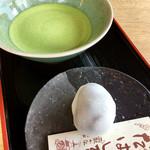 茶丈藤村 - お薄とたばしる(700円)