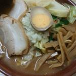 ラーメンハウス - 味噌ラーメン(ポテト入り)