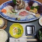 天然活魚の店 花靖  - 刺身膳1890円