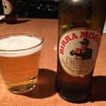トラットリアヴィアーレ - イタリアビール、美味♪