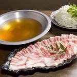 谷上笑店 - メニュー写真:新鮮豚のしゃぶしゃぶ