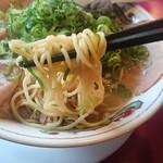 一丁 - 中細ストレート麺