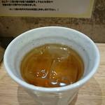麺家獅子丸 - お茶が嬉しい