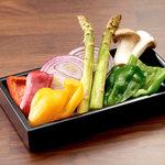 季節の焼き野菜セット