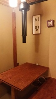 韓味一 朴邸 - 個室は接待にも使っていただけます。
