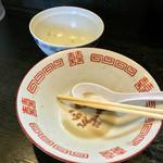 中華ソバ 伊吹 - 伊吹(東京都板橋区前野町)完食・完汁