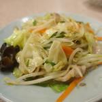 食堂 いちばん - 野菜炒め反対側