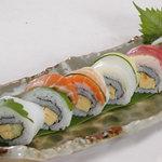 ぱいかじ - 鮮魚の彩りロール