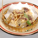 ぱいかじ - 島タコの天ぷら