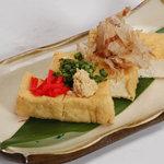 ぱいかじ - 島豆腐の厚揚げ