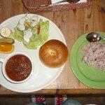 ウエスタンカフェ・フィールドマジック - 料理写真:カレー。