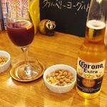 57800040 - コロナビールとサングリア