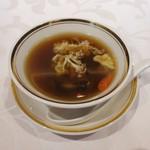 Gold Fin 過門香 - スープ