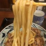 丸亀製麺 - 牛すきのうどんモチモチ食感〜