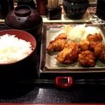 57801080 - 若鶏から揚げ定食 税抜860円 2016/10/21