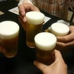 57803049 - 生ビールで乾杯