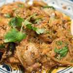 印度料理シタール - 2016.10 きのことマトンのブナ(1,620円)