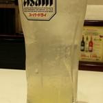 餃子の王将 - レモンサワー280円
