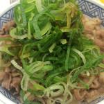 吉野家 - 牛丼+ねぎ