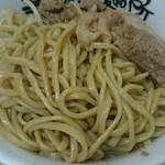 暴豚製麺所 - 麺アップ