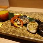 日本酒と焼鳥 百 - ☆お付き出し(*^^)v☆
