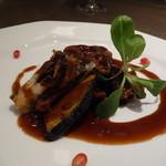 サイアミーズ フィン - 豚肩ロースと季節野菜の黒酢酢豚