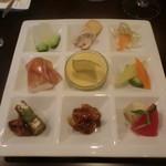 カジュアルフレンチレストラン アルブル - 前菜盛り合わせ