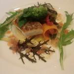 カジュアルフレンチレストラン アルブル - 天草産真鯛と北海道産帆立のグリル