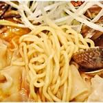 57808527 - 浅草開化楼謹製の麺。