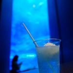 オーシャンブルー - ドリンク写真:美ら海塩ソーダフロート