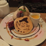 パンケーキママカフェ VoiVoi - ハロウィンパンケーキ(2016年10月)