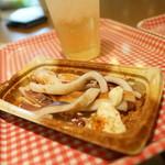 第1ベイサイドカフェ - イカ焼き