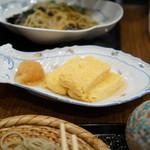 玄蕎麦 野中 - 出汁巻き