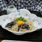 玄蕎麦 野中 - 鶴の子納豆蕎麦
