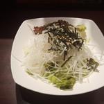 いきなり!ステーキ - 大根サラダ