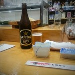 57814468 - 瓶ビールはサッポロ黒ラベル