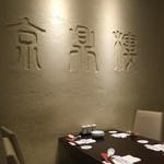 京鼎樓 - 恵比寿本店のテーブル