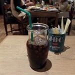 熟成肉LAB DA★BUTCHERS - 深煎りアイスコーヒー(ランチのセット)