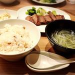 杜 - ☆炭火焼き牛タン定食☆