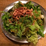 ハンサム食堂 - パクチーサラダ・420円