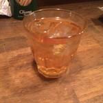 ハンサム食堂 - パクチー梅酒・480円