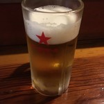 かのせ庵 - 生ビール