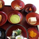 レストラン源 - 中尊寺精進料理1300円