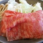 レストラン源 - 前沢牛すき焼き