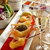 銀座 六覺燈 - メニュー写真:選りすぐられたヴィンテージワインと串揚げのマリアージュを是非ともお楽しみください。