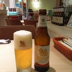 Monsoon Cafe - シンハービール